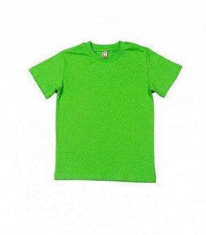 Футболка детская 62854, зеленое яблоко