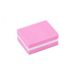 Микробаф с мягкой прослойкой 100/180 розовый, 3.5*2.5см