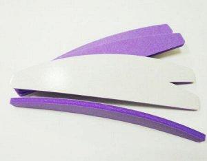 Сменные файлы-бафы, полумесяц, 240грит фиолетовые