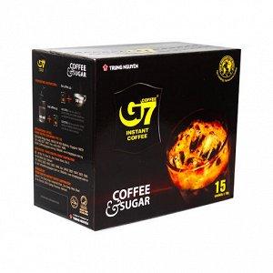 Растворимый кофе  фирмы «TrungNguyen» «G7» 2в1 15пак*16гр