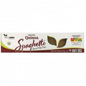 Now Foods, Real Food, спагетти из органической квиноа, 227 г (8 унций)