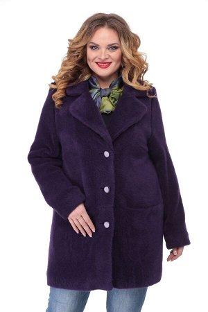 Пальто Пальто БелЭльСтиль 819 сиреневый  Состав: ПЭ-37%; Хлопок-60%; Эластан-3%; Сезон: Осень-Зима Рост: 164  Модное и уютное пальто, выполнено из теплой пальтовой ткани. Пальто полностью на подкладк