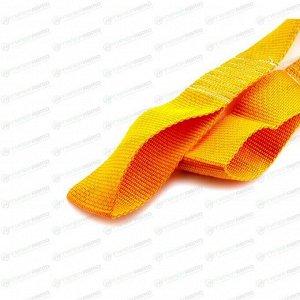Трос буксировочный TOP AUTO, строп лента, петли, нагрузка до 10т, длина 6м, арт. 48712