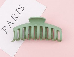 Крабик для волос, цвет зеленый, 2 шт