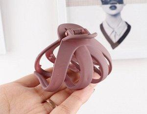 Крабик для волос, цвет розовый, 2 шт
