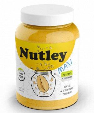 Паста арахисовая классическая crunchy 1000 г Nutley