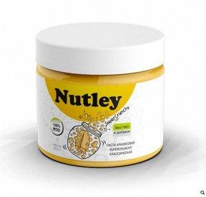 Паста арахисовая классическая Super crunchy 300 г Nutley