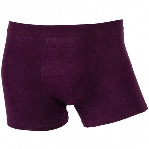 Трусы Модель: шорты. Цвет: бордовый. Комплектация: трусы. Состав: хлопок-80%, бамбуковое волокно-15%, спандекс-5%. Бренд: AMIGO. Фактура: узор.