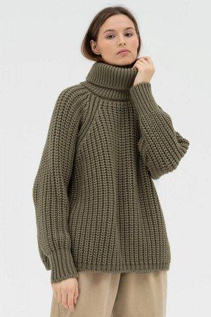 Свитер Модель: свитер. Цвет: зелёный. Комплектация: свитер. Состав: шерсть-50%, акрил-50%. Бренд: aim. Фактура: однотонная. Плотность: толстая.