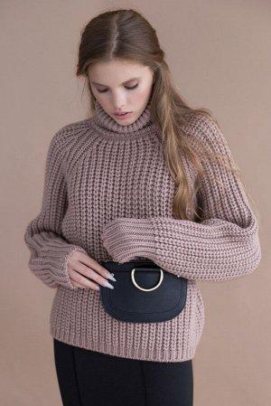 Свитер Модель: свитер. Цвет: пудровый. Комплектация: свитер. Состав: шерсть-50%, акрил-50%. Бренд: aim. Фактура: однотонная. Плотность: толстая.
