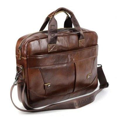 Кожаные сумки и рюкзаки по доступной цене — Мужские портфели