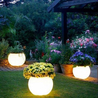 Большая распродажа для дома и сада — Освещение в саду