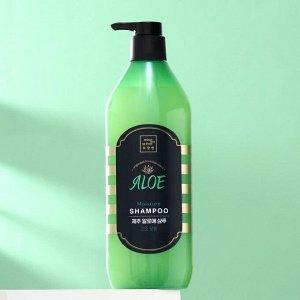 Шампунь для волос Mise En Scene Jeju Aloe, увлажняющий, 780 мл