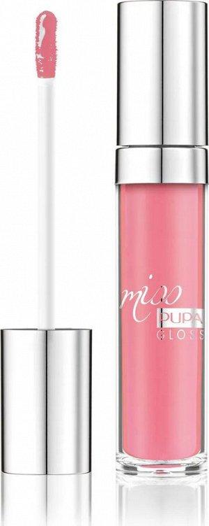 .Пупа  блеск для губ MISS PUPA GLOSS № 302 Гениальный роз