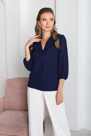 "Блуза ""AZ-384"" (темно-синий)"