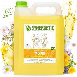 Выгодно! SYNERGETIC жидкое мыло «Полевые цветы» 5л