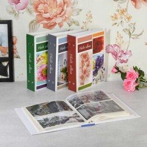 Фотоальбом на 200 фото 10х15см, 17,5х23см, бумага, пластик