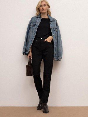 Зауженные джинсы D159/nero