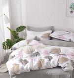 Комплект из сатина 2 спальный с Европростыней