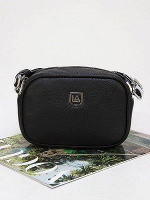 LACCOMA сумка 1077-21-F001-черный эко кожа хлопок