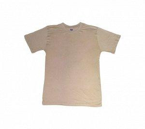 Мужские футболки Наш текстиль бежевые 48-56