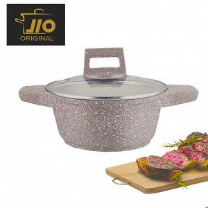 """Кастрюля с гранитным покрытием JIO """"Granite Cookware"""" / 24 см"""