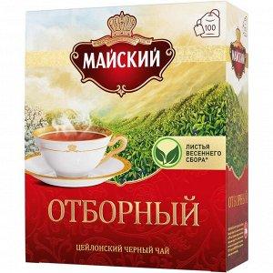 Чай Майский Отборный черный 100пак