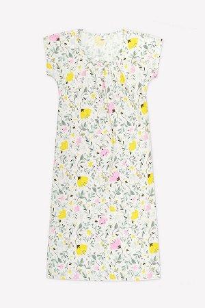 Сорочка(Весна-Лето)+mom (белая лилия, нежные цветы)