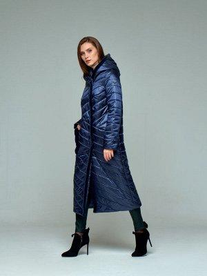Пальто женское графит