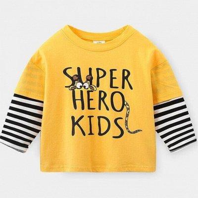 BabyKids-❤ Одежда для детей — Лонгсливы мальчикам