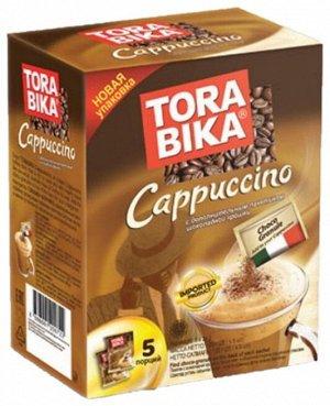 Tora Bika Капучино пакет РАСТВОРИМЫЙ (Коробочка) 25гр. 1*5*24