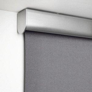 TRETUR ТРЕТУР Рулонная штора, блокирующая свет , светло-серый140x195 см