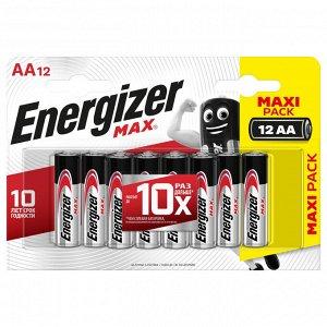 ENERGIZER батарейка MAX AA/LR6 FSB12