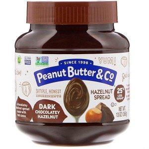 Peanut Butter & Co., Спред из фундука, темный шоколад и фундук, 369 г (13 унций)