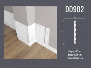 """Панель стеновая DD902 Decor-Dizayn из дюрополимера """"ГРАНИ"""" 130*10мм 2м 1/18"""