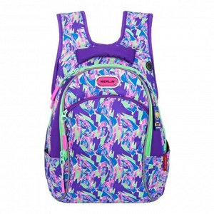 Рюкзак молодёжный, Merlin G15, 43 x 29 x 15 см, эргономичная спинка