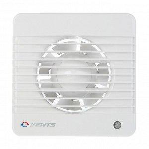 Вентилятор вытяжной VENTS 100 МТН, d=100 мм, 220-240 В, с таймером и датчиком влажности