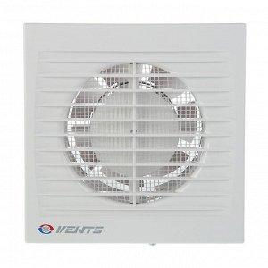 Вентилятор вытяжной VENTS 100 СTH, d=100 мм, 220-240 В, таймер и датчик влажности