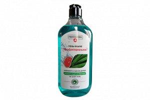 Антибактериальное гель-мыло грейпфрут и чайное дерево. Без дозатора. 530 мл.
