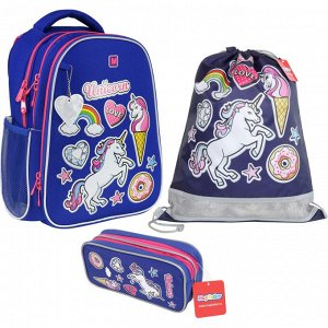 Рюкзак школьный Magtaller B-Cool, Patch, с наполнением, 41019-31