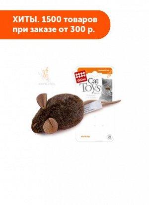 GiGwi Мышка со звуковым чипом 15см