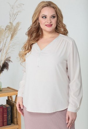 Блуза Anastasia Mak 804 бежевый