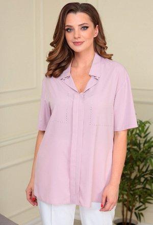 Блуза Anastasia Mak 834 розово-сиреневый