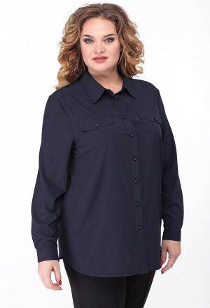 Блуза Anastasia Mak 761 синий