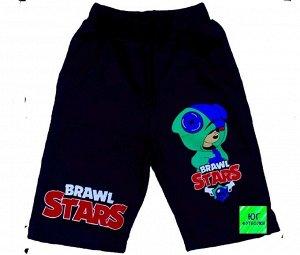 Светящиеся шорты «Brawl stars» тем-синий