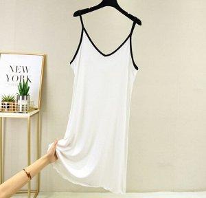 Платье, белый