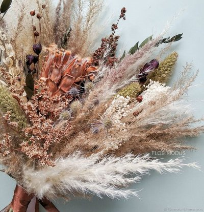 Устрой вечеринку с друзьями! Декор для любого случая и повода — Сухоцветы и ветви бамбука