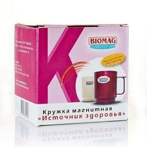 """Кружка магнитная """"Источник здоровья"""" УПНМ-01 """"Биомаг"""""""