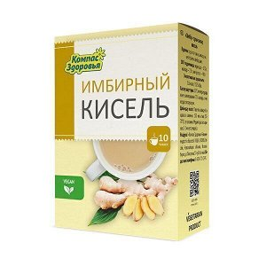 """Кисель овсяно-льняной """"Имбирный"""", 150 г, марка """"Компас Здоровья"""""""