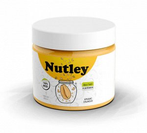 "Паста арахисовая ""crunchy"", 300 г, марка ""Nutley"""